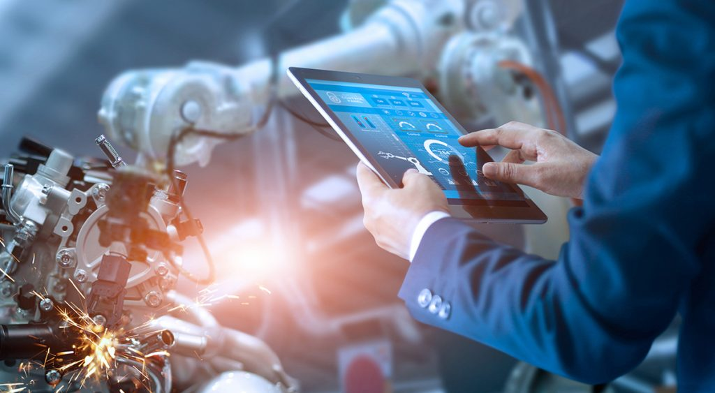manufacturing enabled by digital technologies such as crm solutions