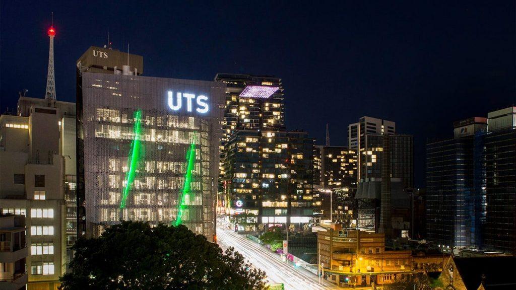 The University of Technology Sydney a night