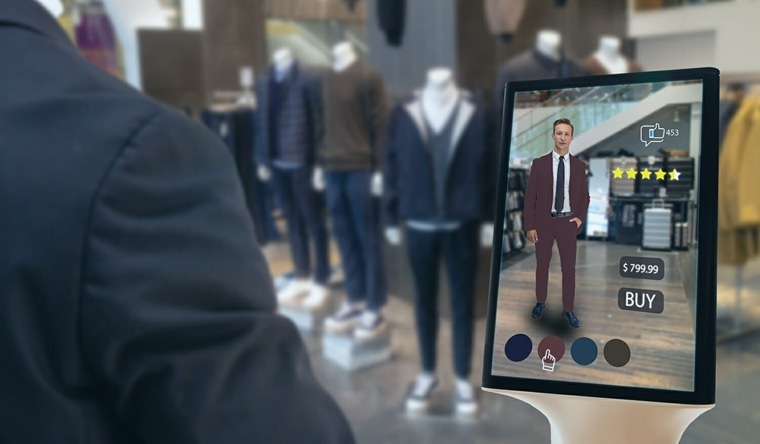 latest digital technology for retail stores