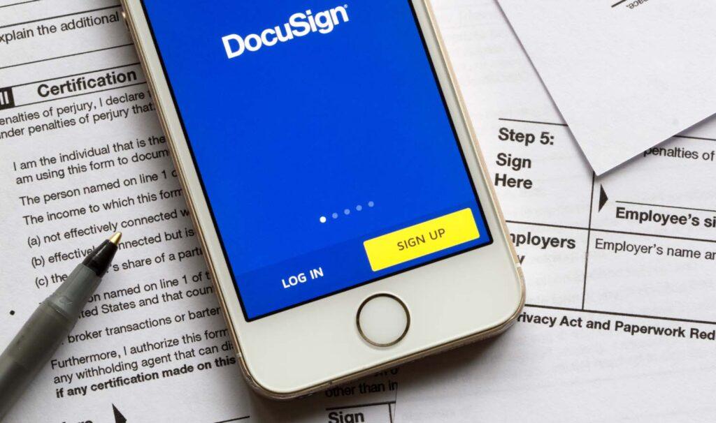 DocuSign revenue process, DocuSign risk reduction, DocuSign revenue operations